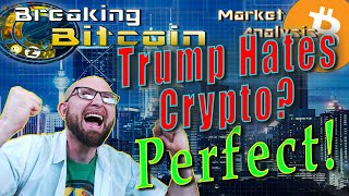 Why Trump Is No Threat To Bitcoin - Blockstack ICO SEC Approval!