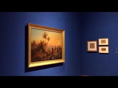 Paintings by 19th-century Indonesian artist Raden Saleh