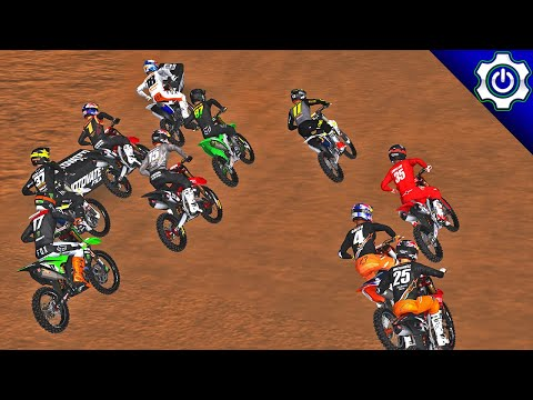 MX Simulator - 2020 MotoOption SX Rd. 4 - Glendale