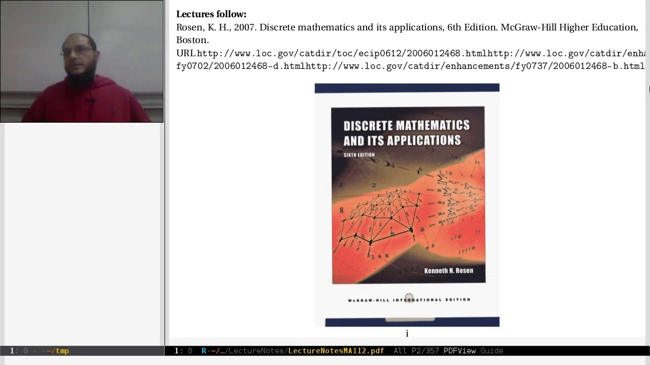 00 Motivation And Introduction To Discrete Mathematics Youtube