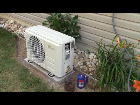 Part 1 Senville Mini Split A/C Heat Pump Installation
