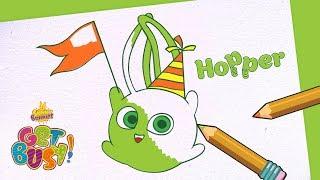 BRAND NEW - SUNNY BUNNIES | Drawing Hopper 2 | Arts & Crafts | Cartoons for Kids thumbnail