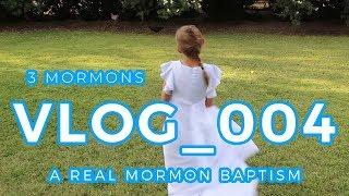 A Real Mormon Baptism!!   3 Mormons Vlog