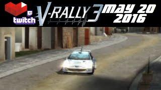 Stream Archive - V-Rally 3 - 5/20/16