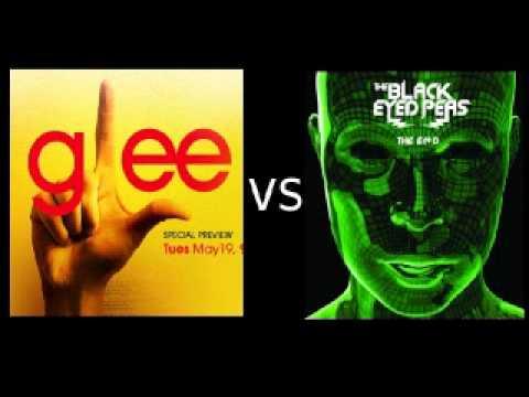 Glee vs. Black Eyed Peas - I Gotta Feeling, Don't Stop Believing!