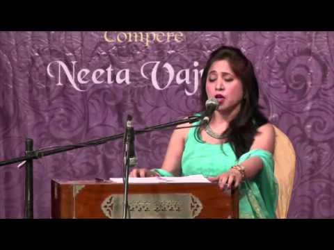Fiza bhi hai jawan jawan  by Devyani Majumdar @ Ru-Ba-Ru - Live performance