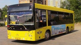 Обзор городского автобуса Маз 206 г Тольятти