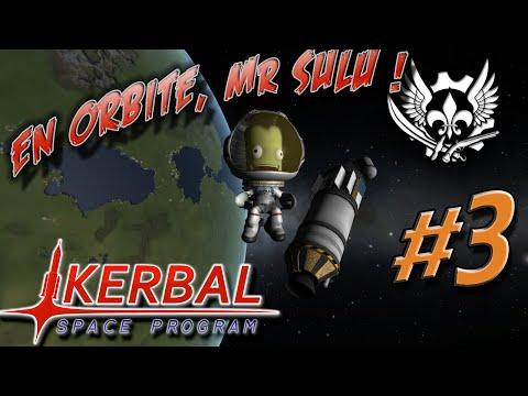 Kerbal Space Program 0.90 Beta - Ep.3 : En orbite, Mr Sulu !