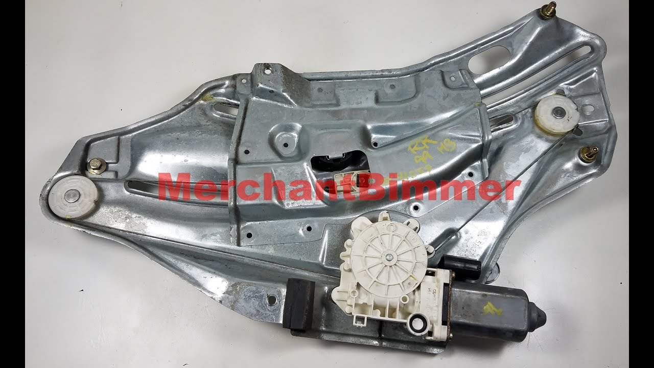 bmw e36 m3 328 325 convertible rear window regulator removal part