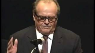 Jack Nicholson gets inducted into the New Jersey Hall of Fame 2010. Part 2 of 2.