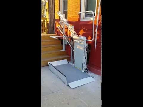 Savaria Delta Incline Platform Lift | Mobility123