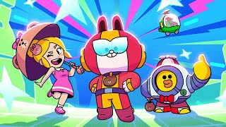 Brawl Stars Animation - Cony Max joins the family!