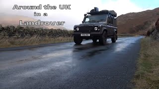 A Trip Down Memory Lane Landrover Defender Travelling the UK