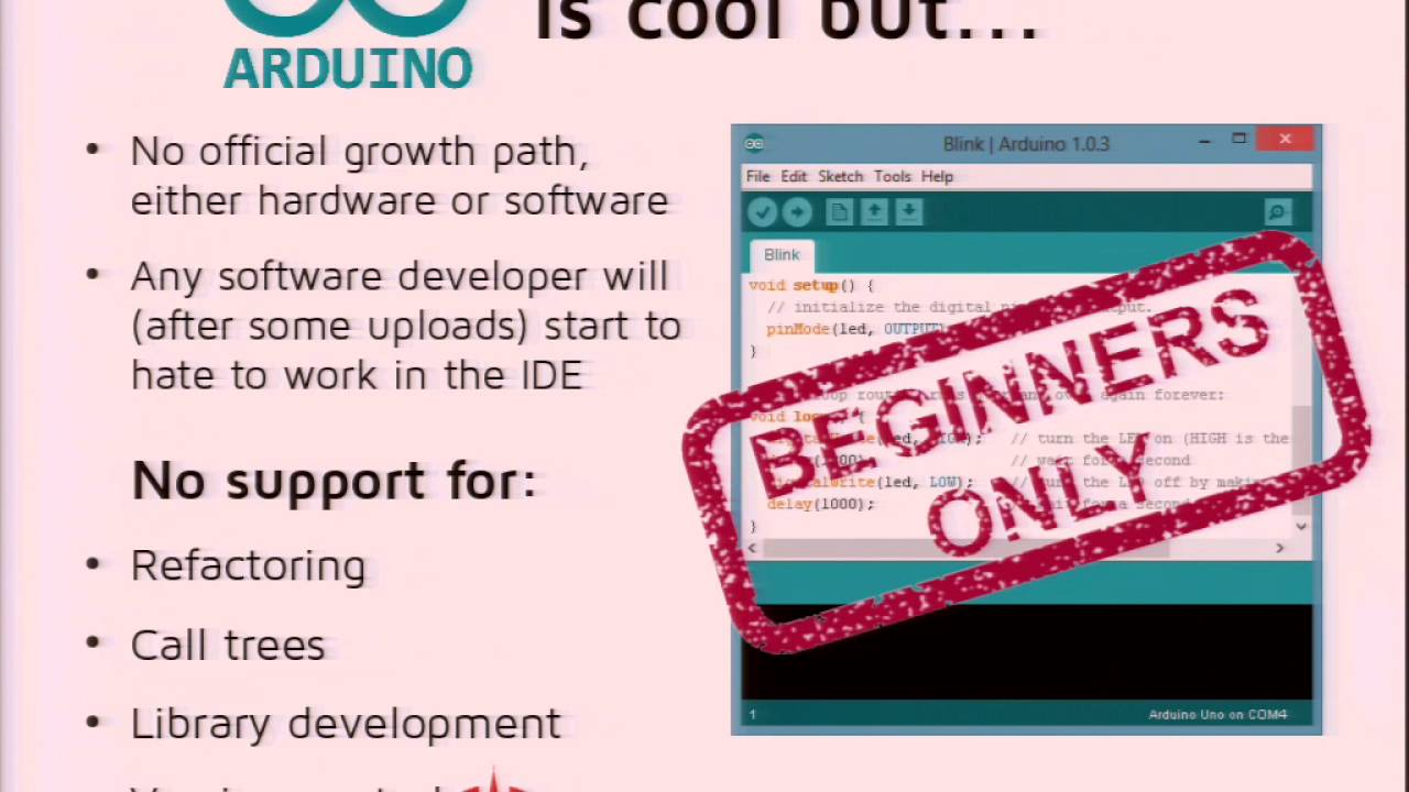 Arduino Eclipse IDE named Sloeber - Welcome!