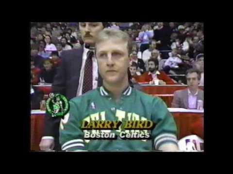 1988 NBA Long Distance Shootout | All-Star Saturday | Larry Bird
