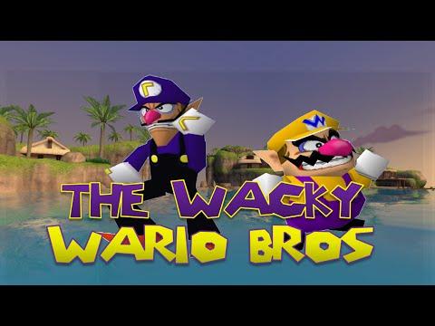 The Wacky Wario bros: Waluigi Origins
