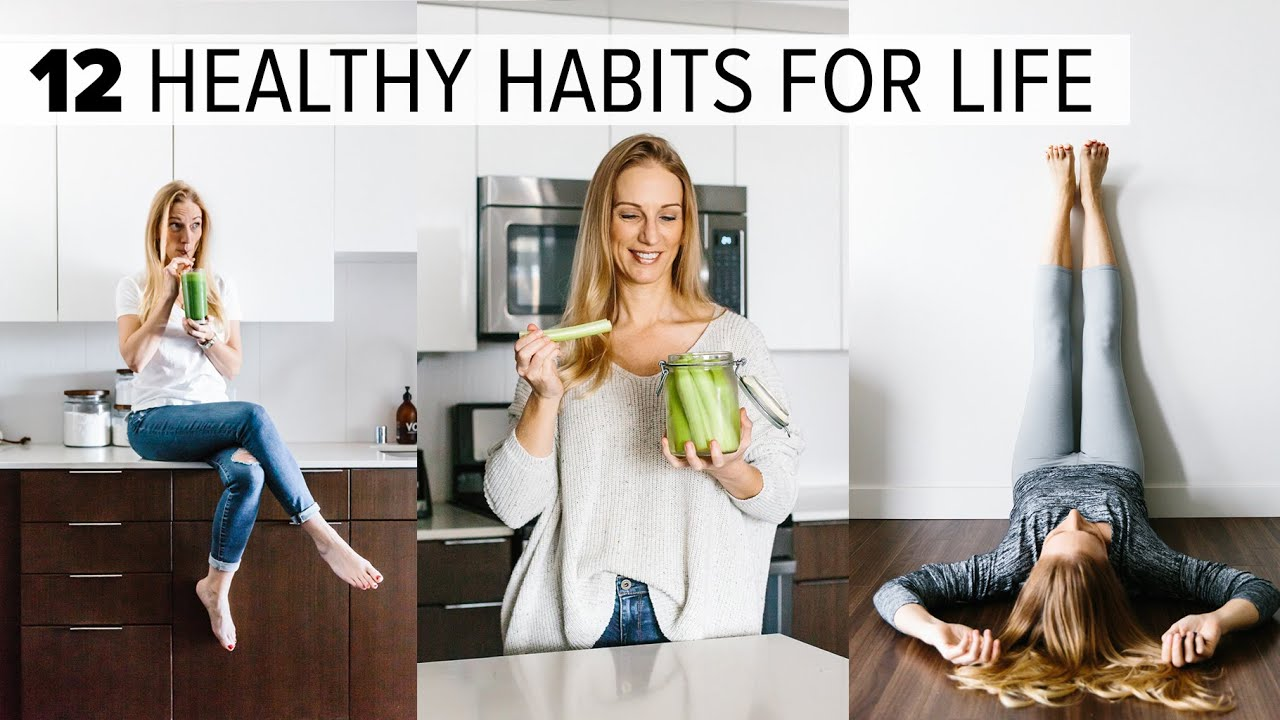 <div>12 HEALTHY HABITS & TIPS | change your life + feel better long term</div>