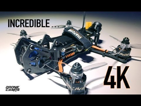 4K DRONE LAMBORGHINI! - Diatone TMC Airblade 4k Freestyle Quad - FULL REVIEW