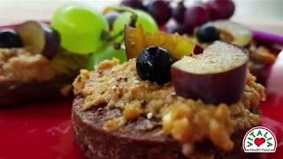 Vitalia healthy food - Намаз од индиски ореви и таан со овесни колачиња (diet, vege)