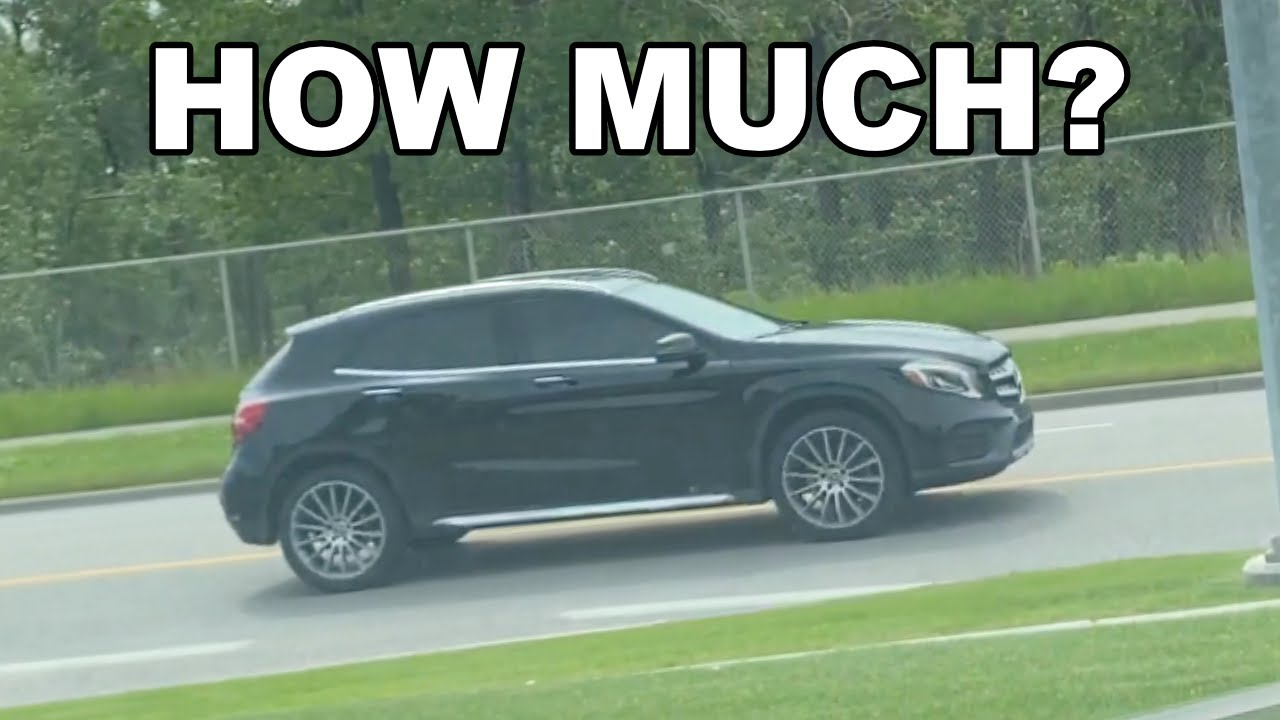 How Much Does Service B Cost on a Mercedes Benz GLA - YouTube