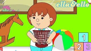 Ke Sekolah Diantar Ayah dan Menjaga Kebersihan | Puri Animation