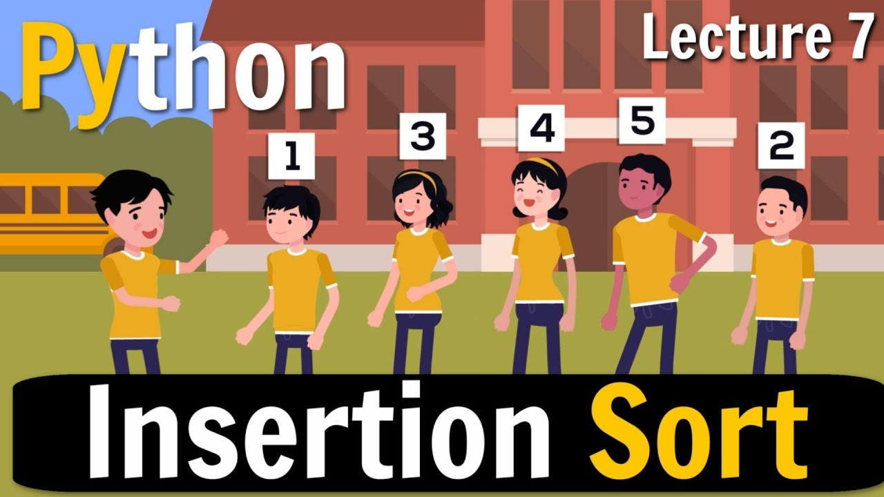 Insertion Sort in Python | Class 12 Computer Science |