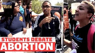 Fresno City Students Debate Abortion