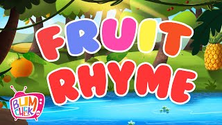 Fruits Song For Kids | Fruit Rhyme | Fruits Learning Song | Nursery Rhymes & Kids Songs |Bumcheek TV