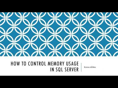 How To Control SQL Server Memory Usage