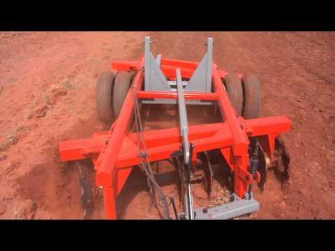 GTCR - Grade Aradora Pesada Controle Remoto - Baldan Implementos Agrícolas