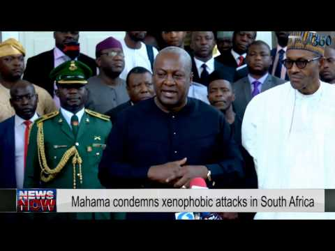 Xenophobia:Young people of South Africa do not know their history- Ghana President, Mahama