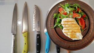 Как сэкономить на продуктах? Какой нож выбрать? Филе с сыром.