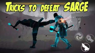How to defeat SARGE