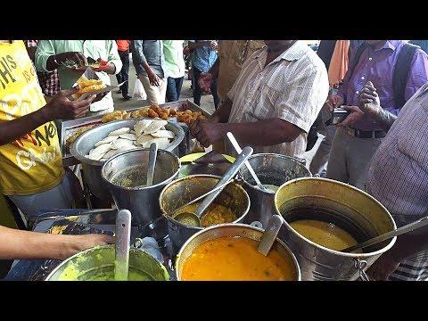 南インドのシャバシャバのカレー 本場チェンナイのカレー屋 South indian curry in chennai
