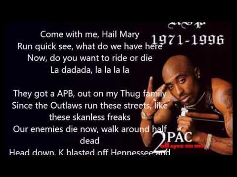 2pac - Hail Mary Lyrics