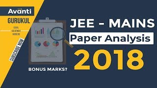 JEE Mains 2018 Paper Analysis | Expected cut off for JEE Main 2018