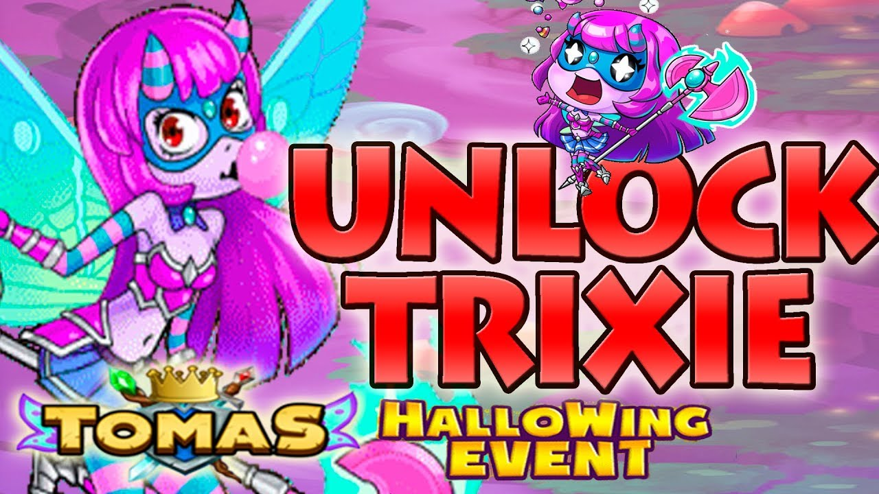 EVERWING - UNLOCK NEW CHAMPION TRIXIE AND MAX LEVEL HER