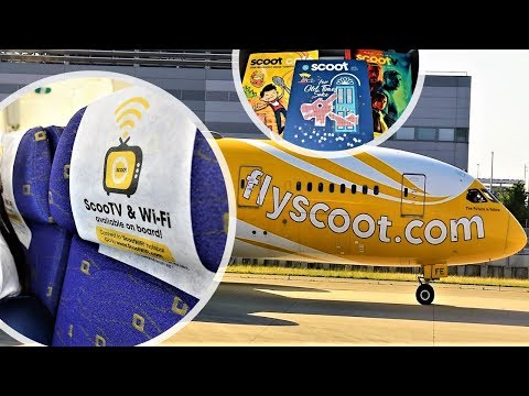 Scoot 787 Economy Class Osaka KIX to Singapore