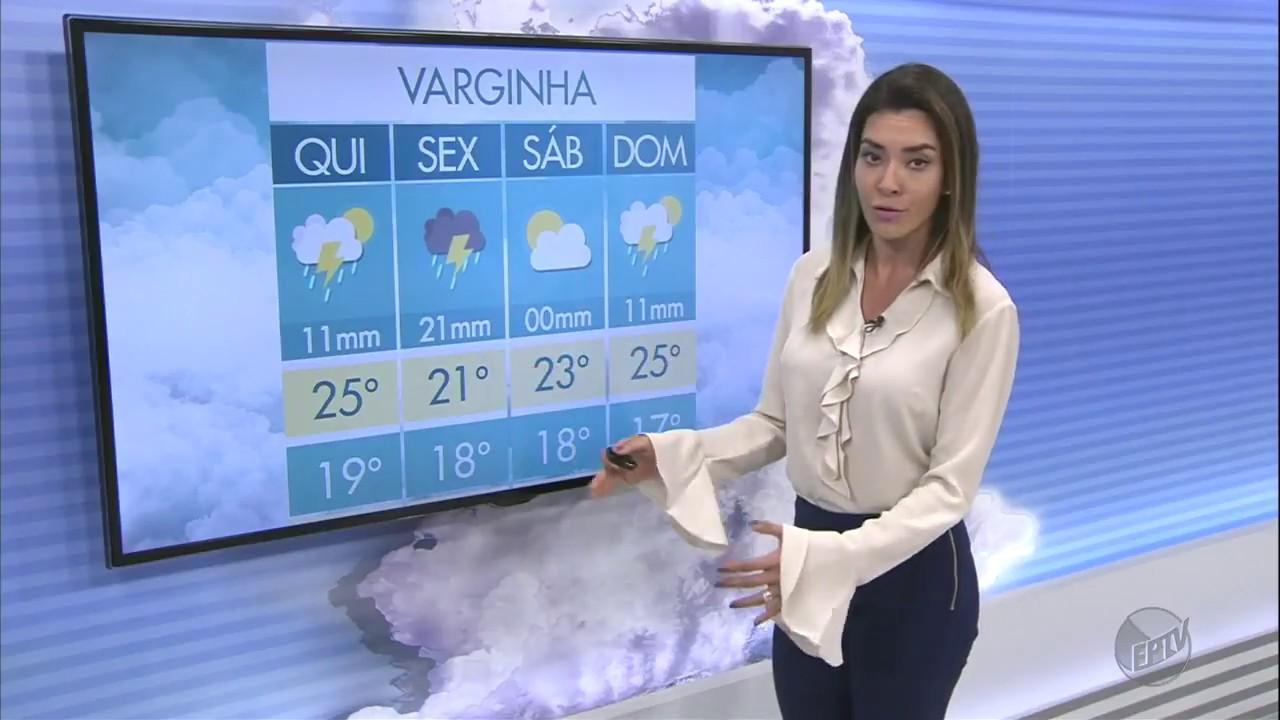 Previsão do Tempo para o Sul de Minas no Jornal da EPTV 2ª Edição (04/01/2018)