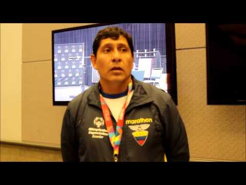 Latino World Radio At Special Olympics World Games 2015 - Ecuador Winning in Power Lifting