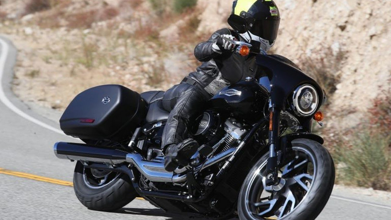 WOW!! Harley Davidson Sport Glide 2018 Review! - YouTube