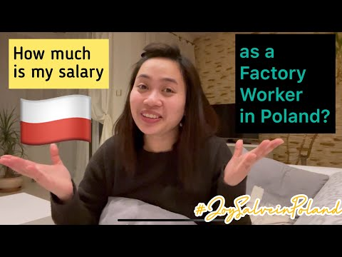 How Much is My Salary as a Factory Worker in Poland?   [ENGLISH & Maarte Version]