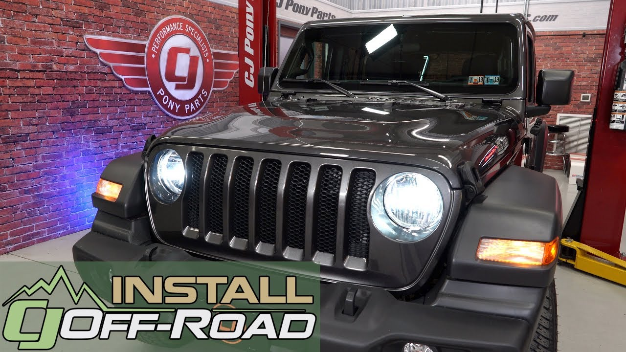 2018 2020 Jeep Wrangler Jl Oracle Lighting Headlight Bulb Led H13