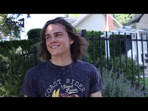 Exclusive photo shoot behind-the-scenes with A.X.L star Alex Neustaedter