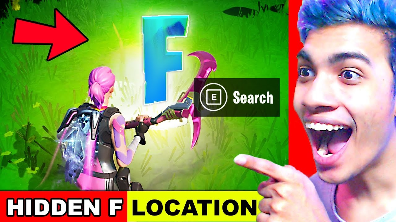 Search The Hidden F In The New World Loading Screen Location Fortnite Chapter 2 Season 1