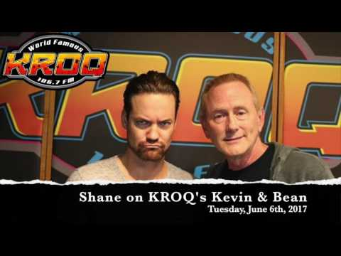Shane West on KROQ's Kevin & Bean  June 6th, 2017