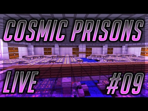 Cosmic Prisons #9 | CELL DESIGN, METEORS, AND PRESENTS?!?!?! (Valron Planet)