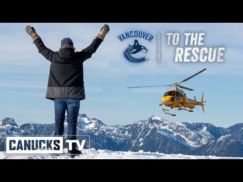 Canucks To The Rescue   A Simulated Mission with North Shore Rescue