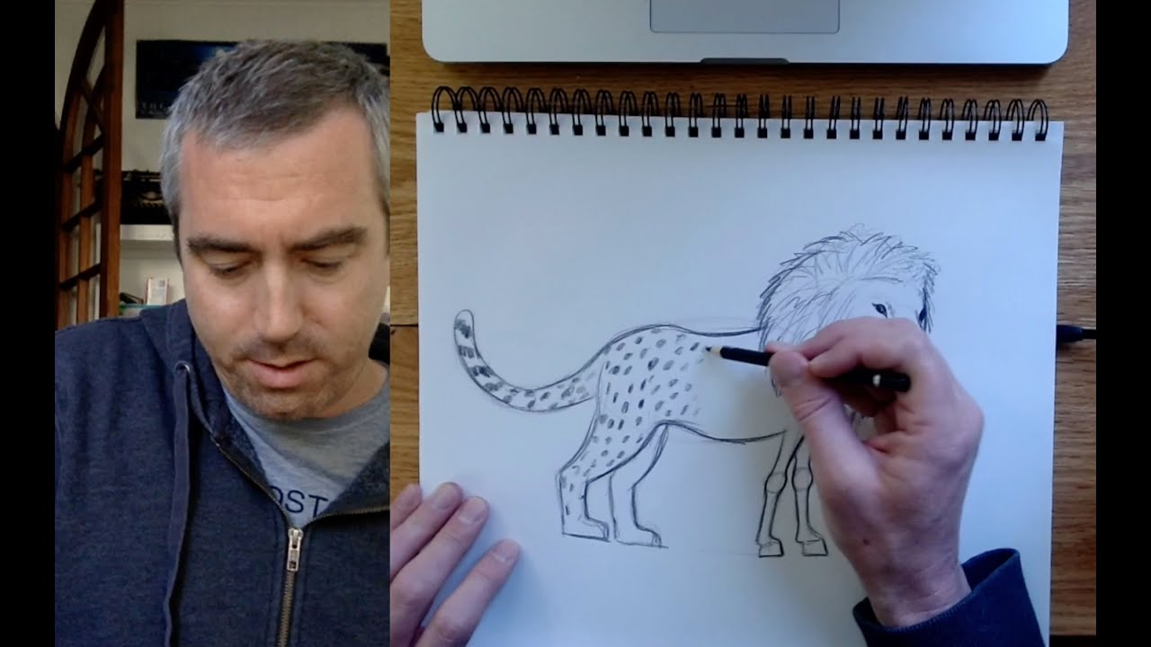 Download Monday Mornings with Matt! Episode 11: Drawing a Lion-Headed Cheebra