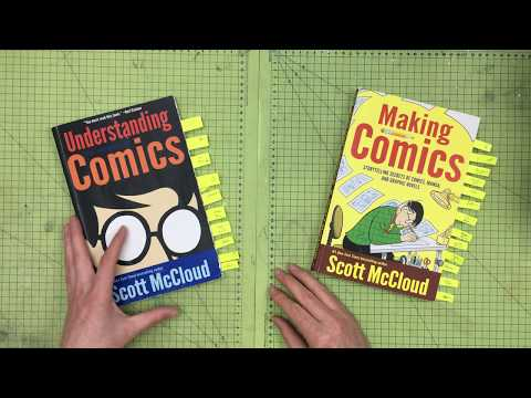 How To Use Graphics, Narrative, Character & Storytelling | Understanding Comics by Scott McCloud